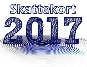 Skattekort 2017, Tax deduction card 2017, Maksukaart 2017, Налоговая карта 2017